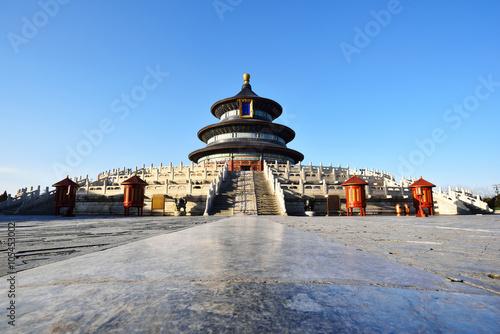 Foto op Plexiglas Bedehuis Temple of Heaven scenary in Beijing,China.