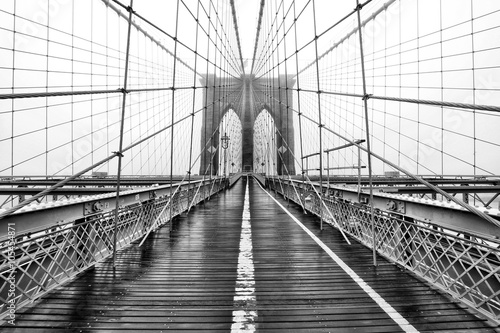 Foto op Aluminium Brooklyn Bridge The Bridge of Yore