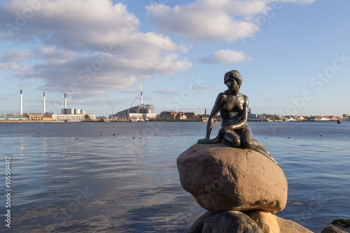 Petite Sirène à Copenhague, Danemark Poster