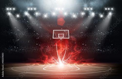 obraz lub plakat Basketball arena