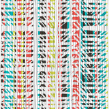 Fototapety Abstract retro colors stripes pattern. Seamless hand-drawn lines