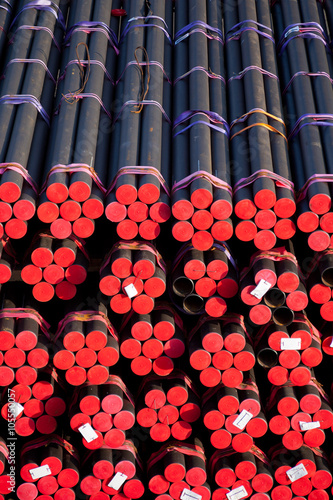 A big heap of pipes Poster