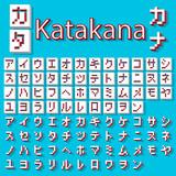 Pixel Japanese Katakana