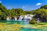 Waterfalls Krka, Croatia - 105633028