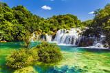 Waterfalls Krka, Croatia - 105633041