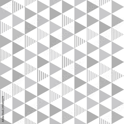 Seamless pattern triangle. 三角のパターン - 105652279