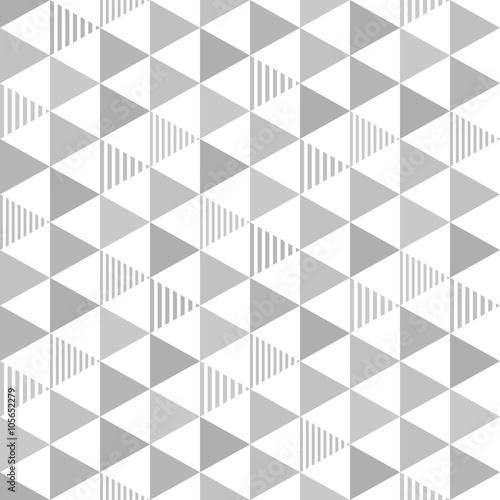 Fototapeta Seamless pattern triangle. 三角のパターン