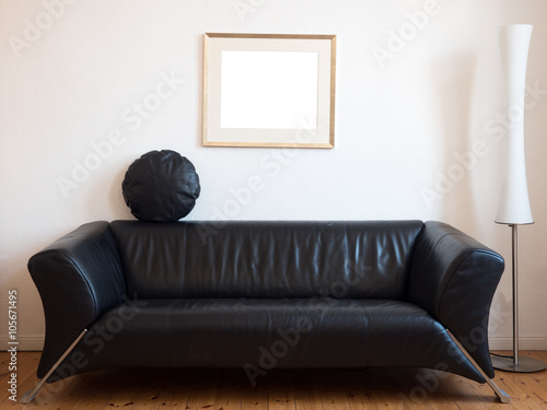 """""""Sofa im Wohnzimmer"""" Stock photo and royalty-free images on Fotolia.com - Pic 105671495"""