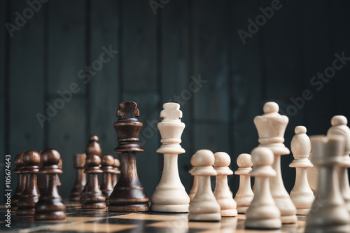Zdjęcia two chess kings
