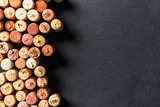 Bunch of wine corks
