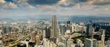 Panorama Skyline von Kuala Lumpur