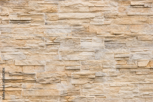 Modern Stone Tile Wall Background - 105682456