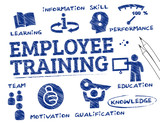 Fototapety Employee training concept