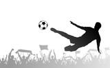 Piłkarze i kibice