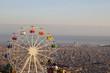 Barcelona ferris wheel at Tibidabo