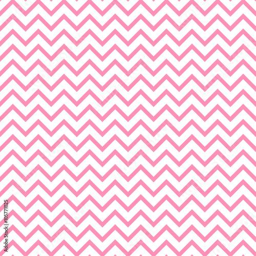 Chevron zigzag black and white seamless pattern. Vector geometric monochrome striped background. Zig zag wave pattern. Chevron monochrome classic ornament. - 105771025