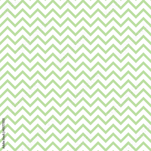 Chevron zigzag black and white seamless pattern. Vector geometric monochrome striped background. Zig zag wave pattern. Chevron monochrome classic ornament. - 105771031