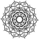 Vector Beautiful Mandala, Patterned Design Element