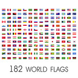 World flags vector g...