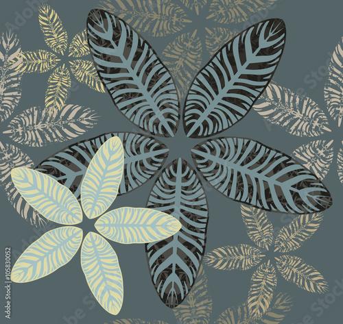 Maranta leaves pattern - 105830052