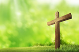 Wooden christian cross