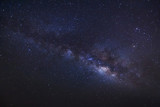 Fototapety milky way on a night sky, Long exposure photograph, with grain