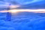 Jesus Christ in Heaven religion concept - 105895220