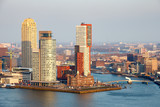 Rotterdam skyline. The Netherlands
