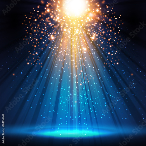 stage, light, spotlight, empty scene illustration easy all edita - 105916464