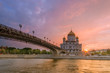 Sunset at the Cathedral of Christ the Savior