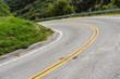 Sharp Bend in Road