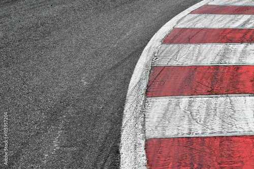 Poster Race track detail