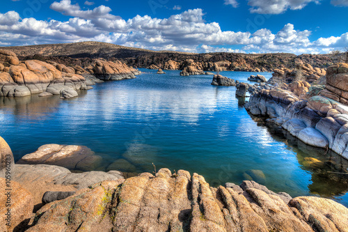 Foto op Canvas Arizona Arizona-Prescott-The Granite Dells-Watson Lake