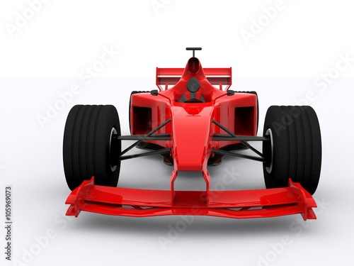 Poster Formula One Race Car