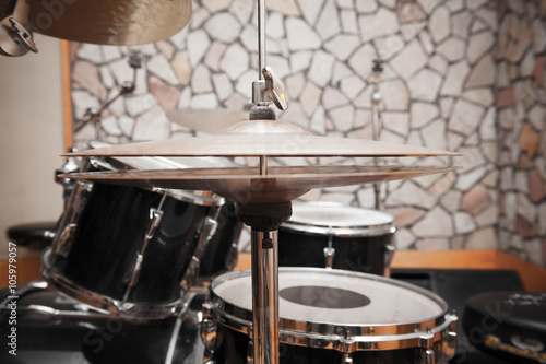 obraz PCV Drums detail in studio