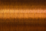 copper wire spool texture metal - 105980629