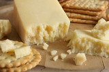 Lancashire cheese a traditional English cheese from the county of Lancashire