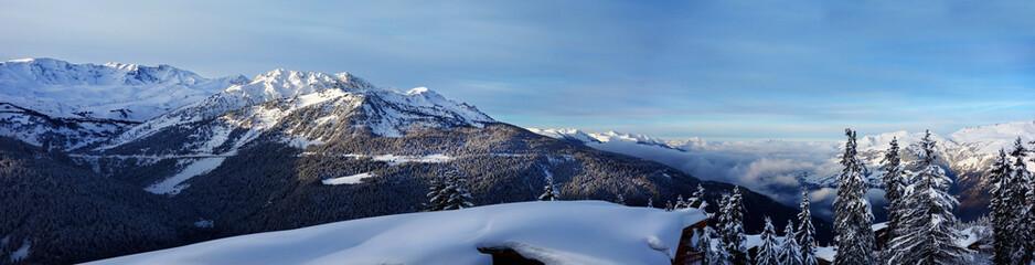 Fototapeta panorama górska