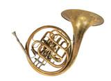 altes horn, blashorn, waldhorn, flügelhorn - 106098439