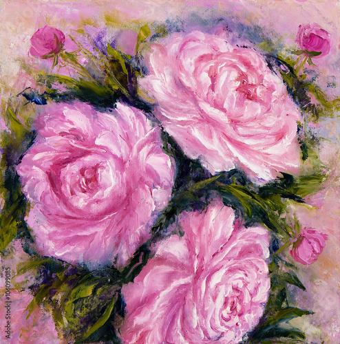 Pink peonies - 106099085
