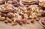 Fototapety Nuts mix