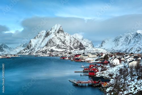 Poster Reine, Lofoten Islands, Norway