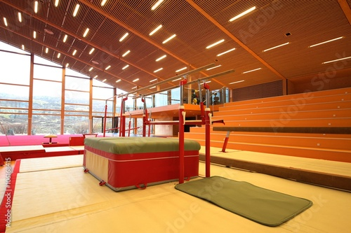 Gymnastic equipment Poster