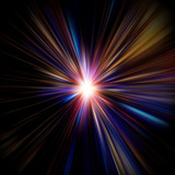 Fototapety 光の放射