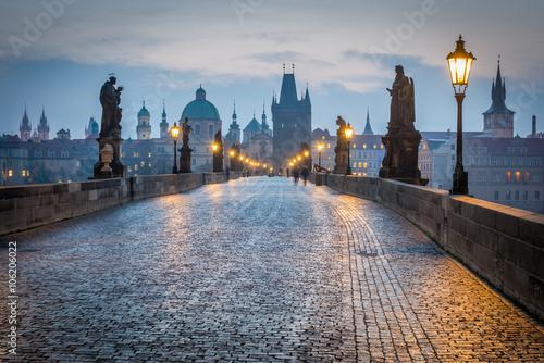 Poster Charles Bridge, Prague