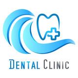 Zahnpflege / Zahnarzt - Vektor Logo
