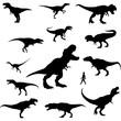 raptor silhouette clipart