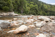 big salmon river in fundy national park new brunswick