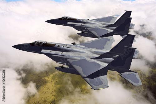 F-15C Eagle 3D rendering