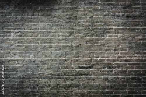 dark brick wall background - 106327018